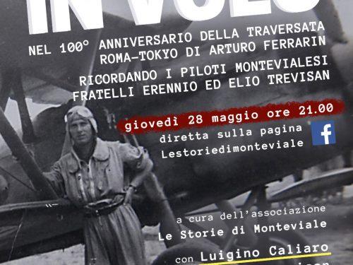 In volo – Tra Arturo Ferrarin e i fratelli Trevisan, anche Monteviale…vola!