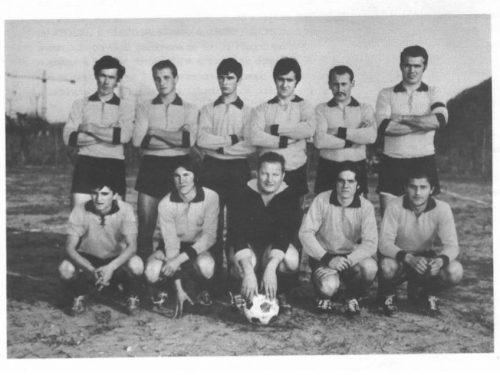 La prima squadra ufficiale di calcio a Monteviale!