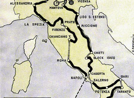 Il Gran Premio della Montagna a Monteviale valeva…10.000 Lire!