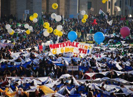 Monteviale in piazza San Pietro a Roma… ben visibile!
