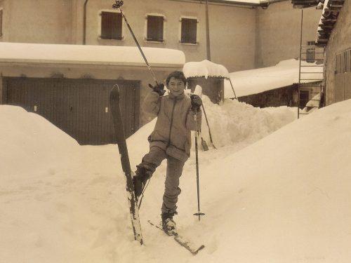 La neve…quanti dolci ricordi…