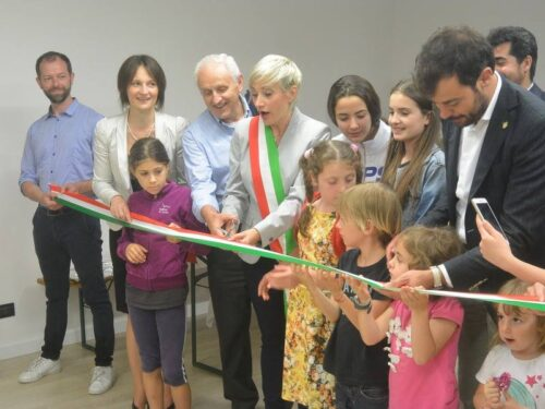 Tre anni fa l'inaugurazione della Biblioteca comunale