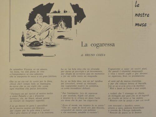 """Una gustosa poesia ricordando la """"fiera"""" a Vicenza"""