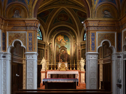 La Chiesa di San Francesco – Villa Zileri